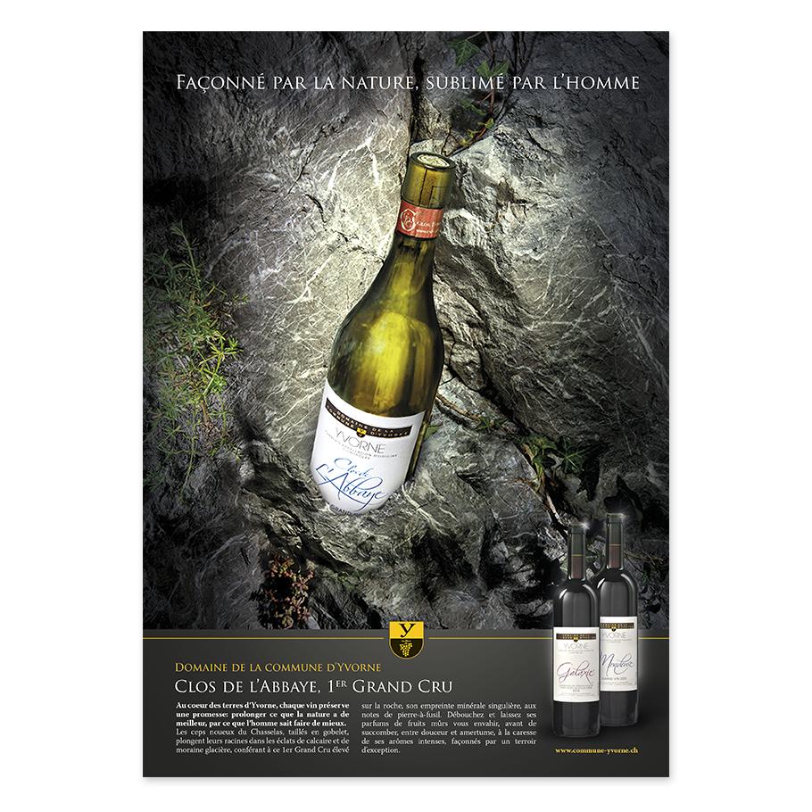 Adveo – Vins commune d'Yvorne